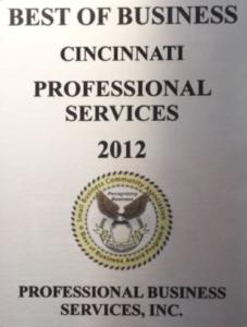 Best of Cincinnati 2012